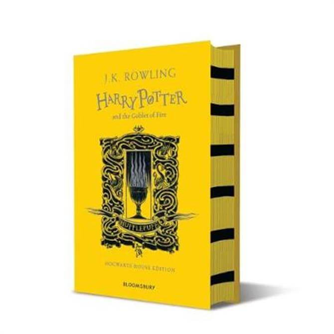Harry Potter and the Goblet of Fire - Hufflepuff Edition (Hardback) - J.K. Rowling