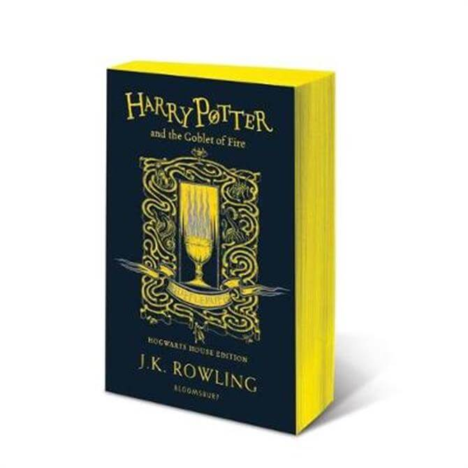 Harry Potter and the Goblet of Fire - Hufflepuff Edition (Paperback) - J.K. Rowling