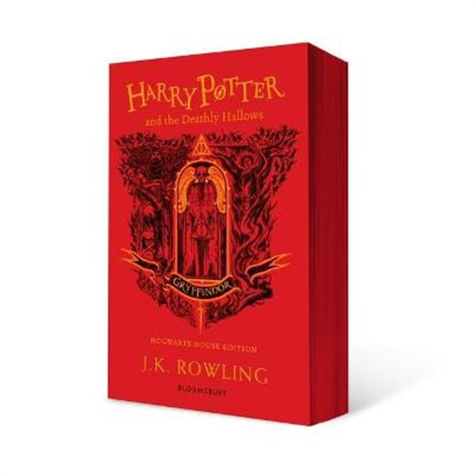 Harry Potter and the Deathly Hallows - Gryffindor Edition (Paperback) - J.K. Rowling