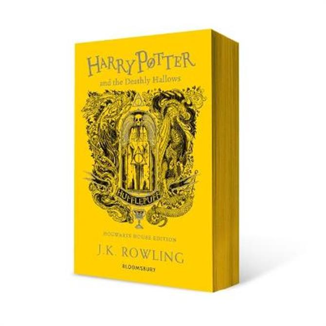Harry Potter and the Deathly Hallows - Hufflepuff Edition (Paperback) - J.K. Rowling
