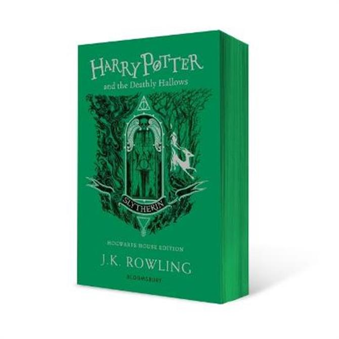 Harry Potter and the Deathly Hallows - Slytherin Edition (Paperback) - J.K. Rowling