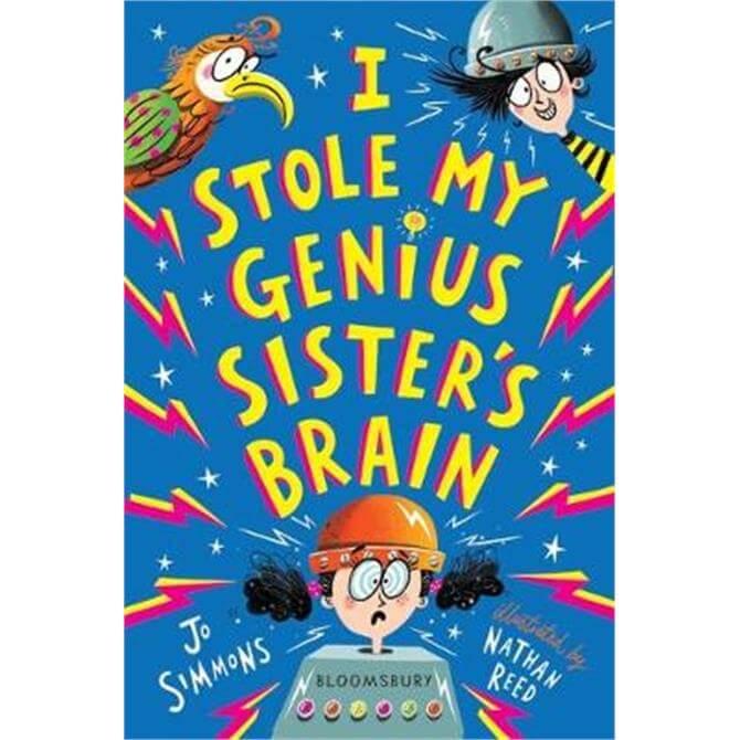 I Stole My Genius Sister's Brain (Paperback) - Jo Simmons