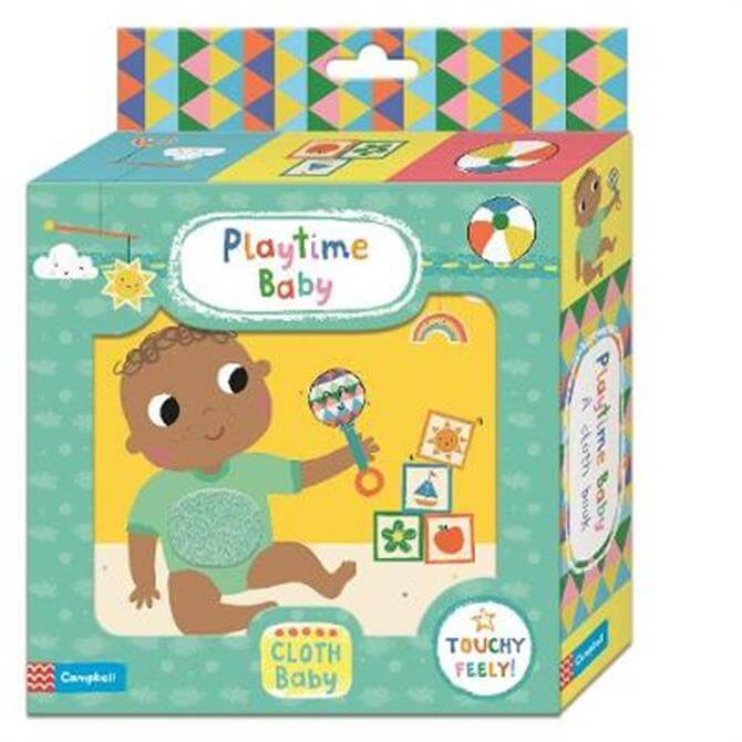 Playtime Baby Cloth Book - Campbell Books