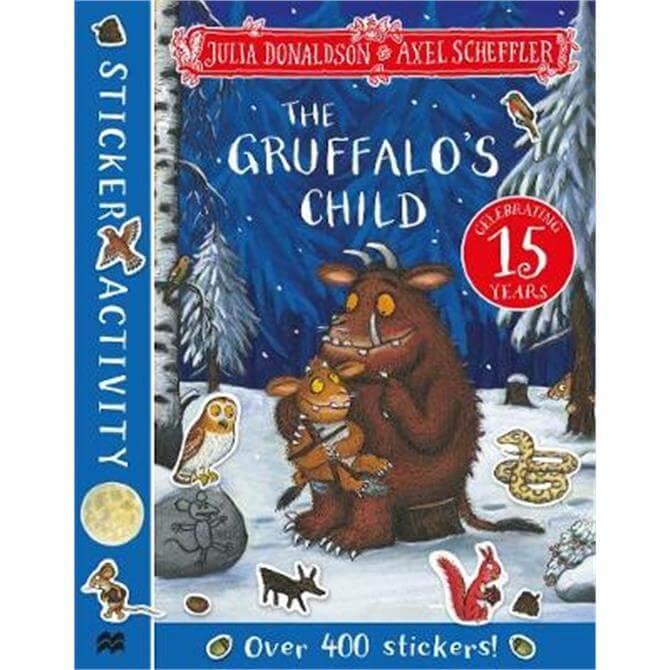 The Gruffalo's Child Sticker Book (Paperback) - Julia Donaldson