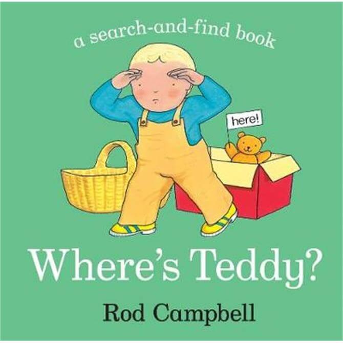 Where's Teddy? - Rod Campbell