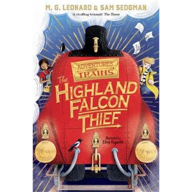 The Highland Falcon Thief (Paperback) - M. G. Leonard