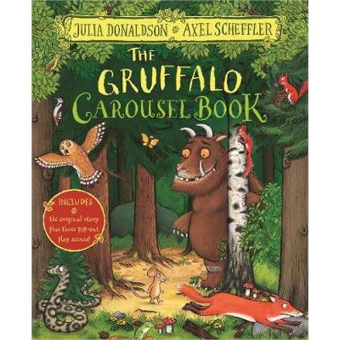 The Gruffalo Carousel Book (Hardback) - Julia Donaldson