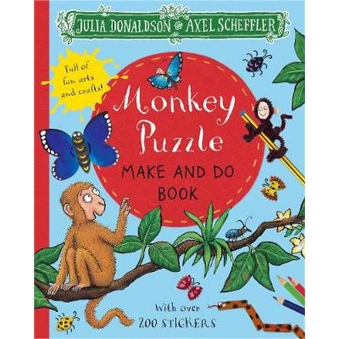 Monkey Puzzle Make and Do Book (Paperback) - Julia Donaldson