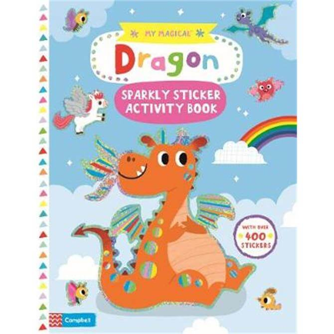 My Magical Dragon Sparkly Sticker Activity Book (Paperback) - Campbell Books