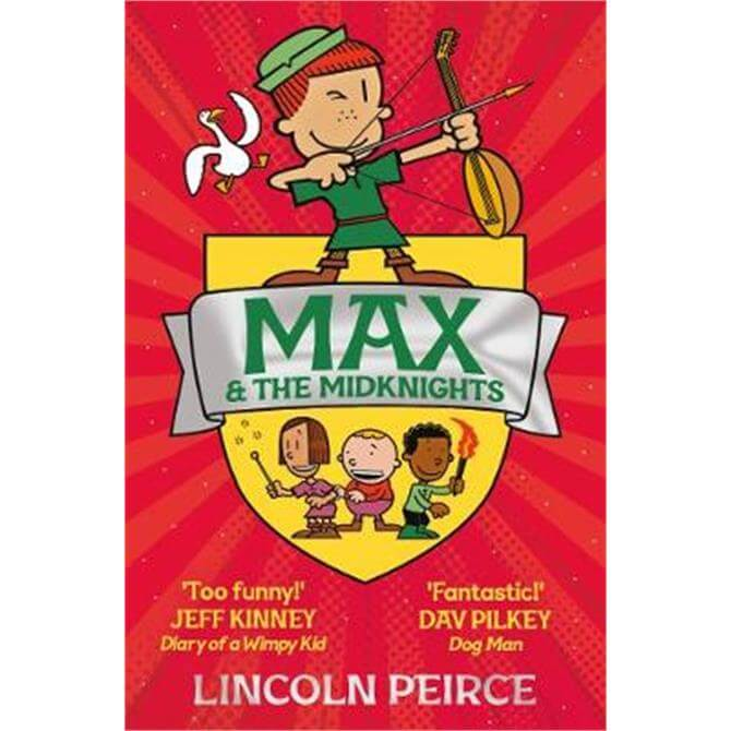 Max and the Midknights (Paperback) - Lincoln Peirce