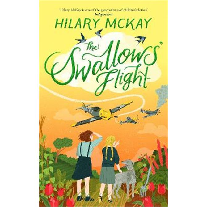 The Swallows' Flight (Hardback) - Hilary McKay SIGNED
