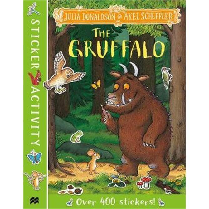The Gruffalo Sticker Book (Paperback) - Julia Donaldson