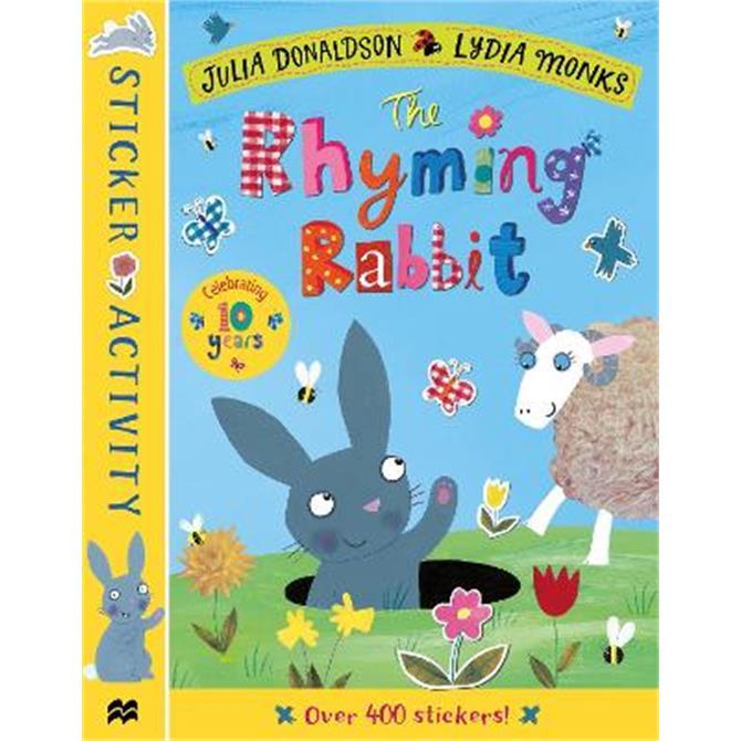 The Rhyming Rabbit Sticker Book (Paperback) - Julia Donaldson