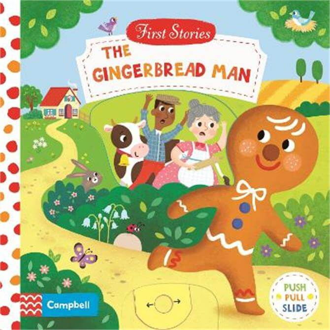 The Gingerbread Man - Campbell Books