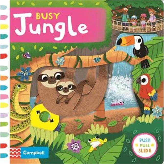 Busy Jungle - Campbell Books