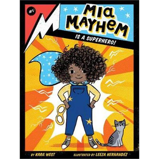 Mia Mayhem Is a Superhero! (Paperback) - Kara West