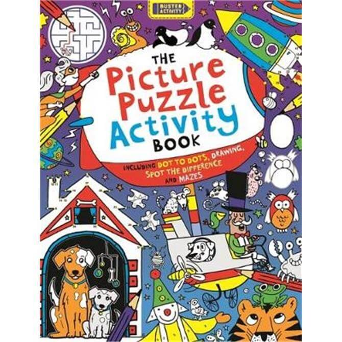 The Picture Puzzle Activity Book (Paperback) - Josephine Southon