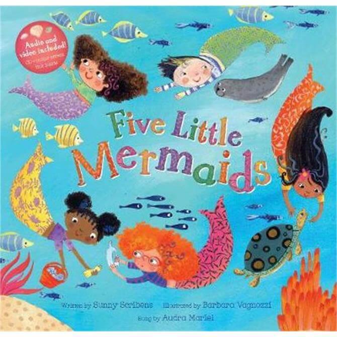 Five Little Mermaids (Paperback) - Sunny Scribens