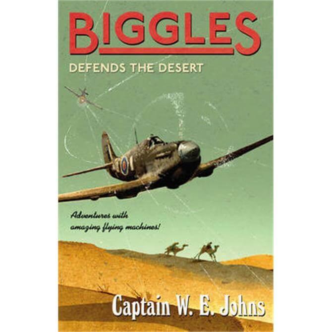 Biggles Defends the Desert (Paperback) - W E Johns