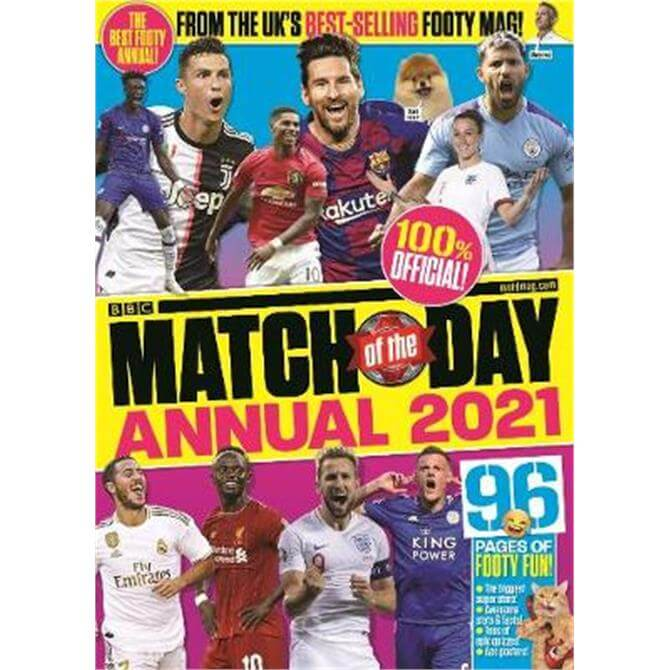 Match of the Day Annual 2021 (Hardback) - Various