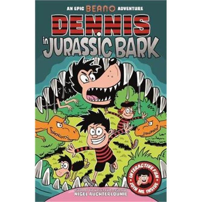 Dennis in Jurassic Bark (Paperback) - Nigel Auchterlounie