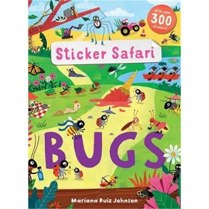 Sticker Safari (Paperback) - Mariana Ruiz Johnson