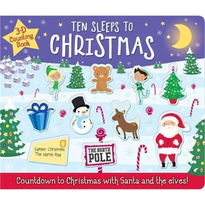 Ten Sleeps to Christmas - Georgie Taylor