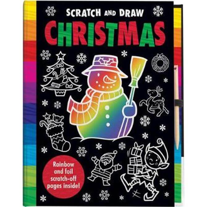 Scratch and Draw Christmas (Hardback) - Kit Elliot