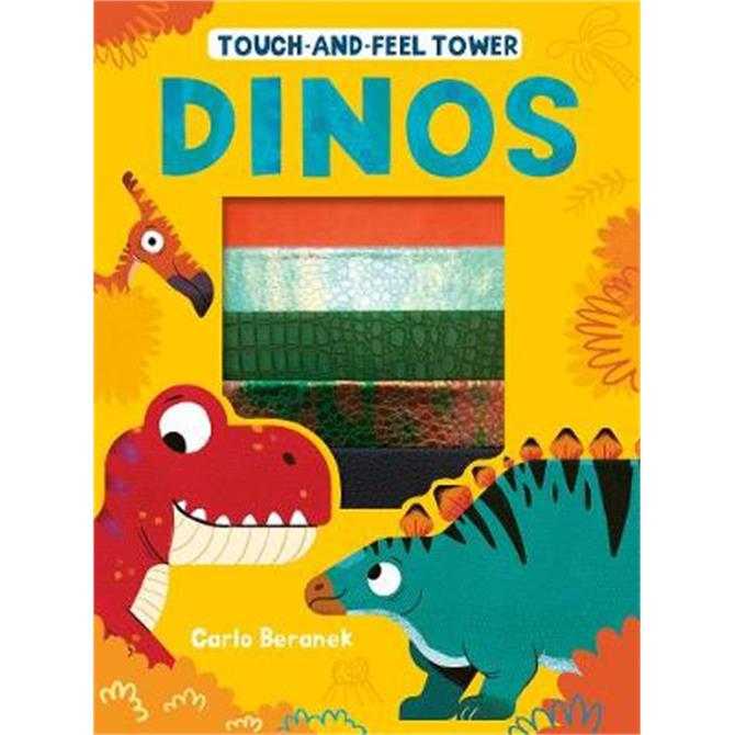 Touch-and-feel Tower Dinos - Patricia Hegarty