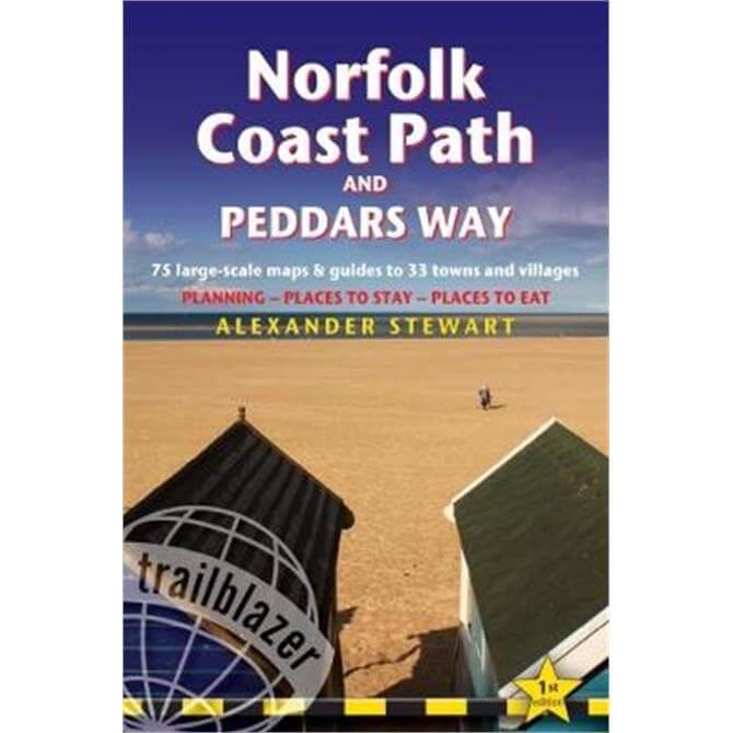 Norfolk Coast Path & Peddars Way (Paperback)
