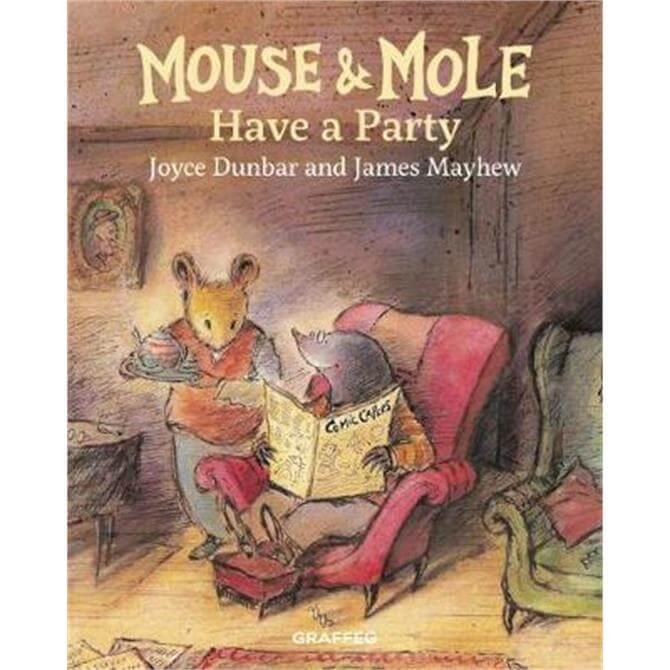 Mouse and Mole Have a Party (Hardback) - Joyce Dunbar