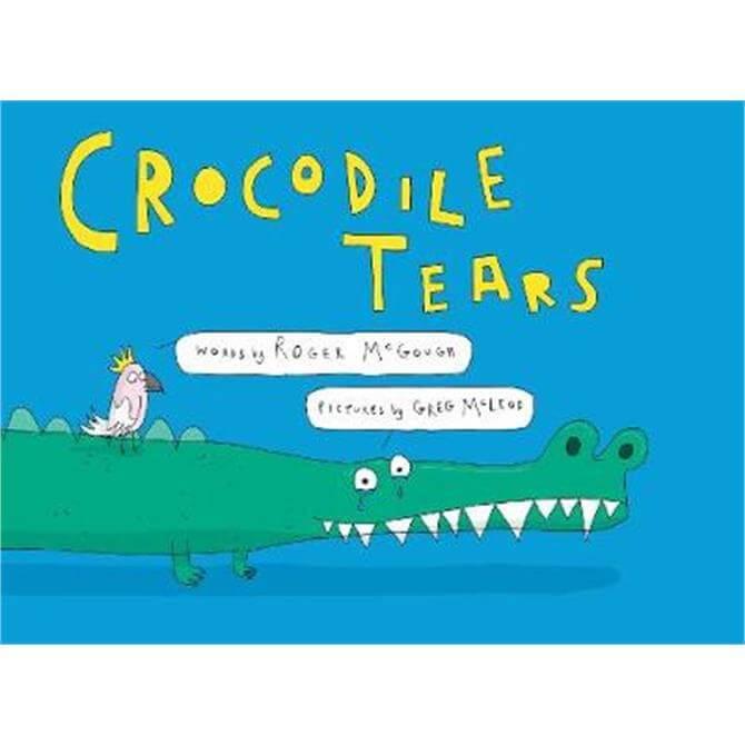 Crocodile Tears (Hardback) - Roger McGough