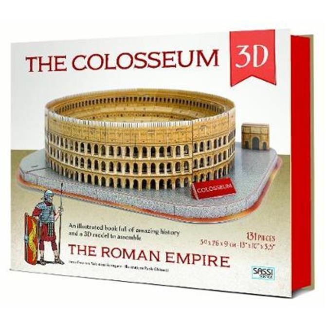 The Roman Empire. Colosseum (Hardback) - Irena