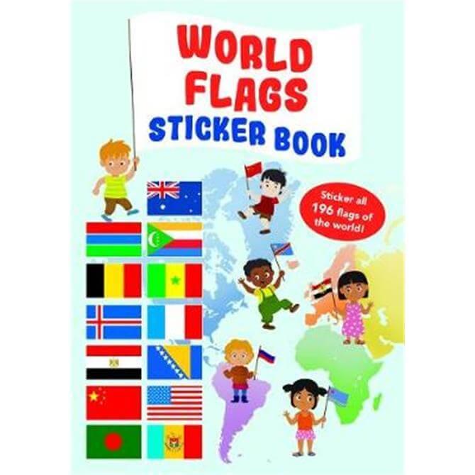 World Flag Sticker Book (Paperback) - Yoyo