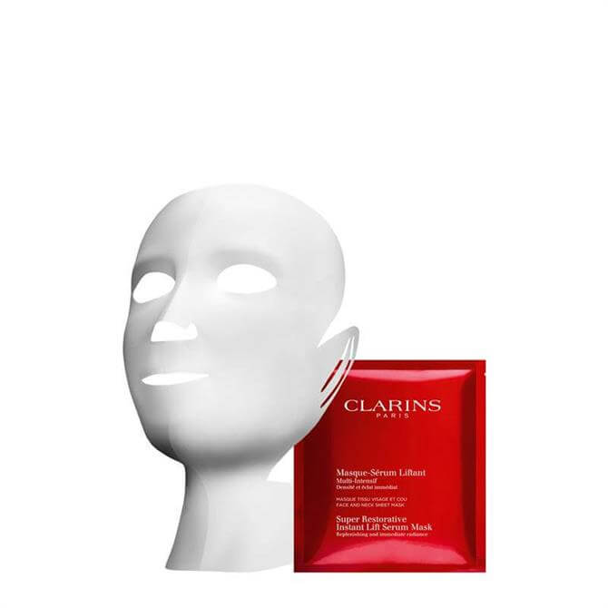 Clarins Super Restorative Instant Lift Serum-Mask - Box of 5
