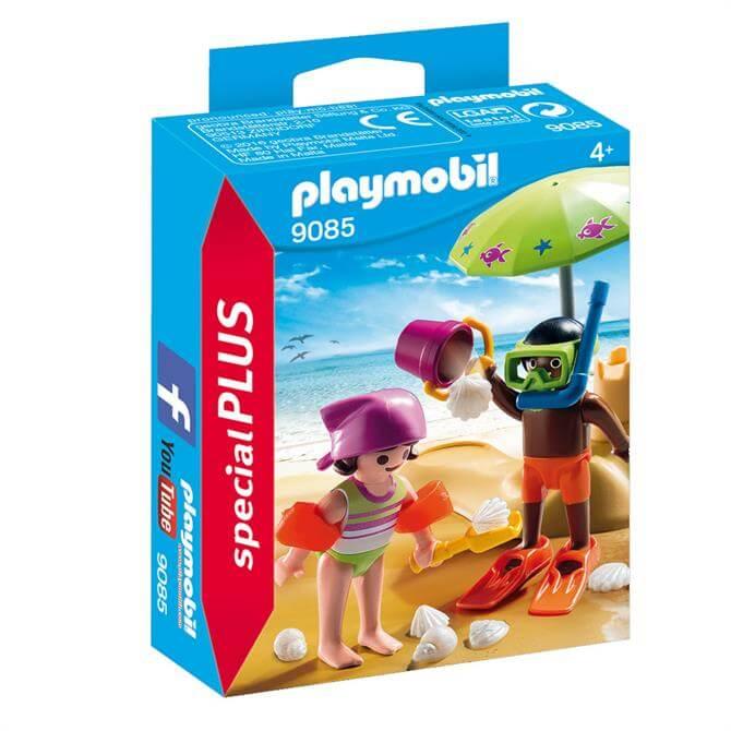 Playmobil Children At The Beach 9085