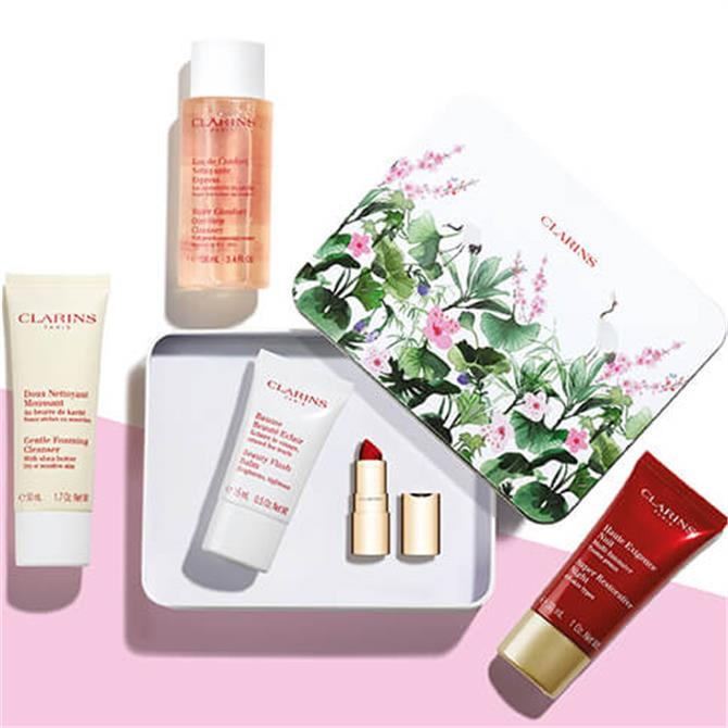 Clarins Your Free Beauty Gift Worth £84.00