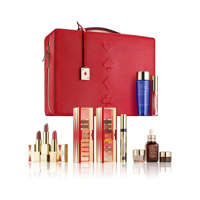 Estée Lauder Limited Edition 30 Beauty Essentials Biggest Gift Set, worth over £329 yours for £68 when you spend £45 on Estée Lauder