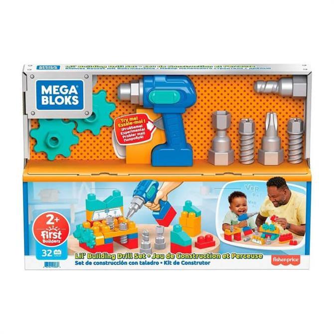 Mattel Mega Bloks Lil Building Drill Set