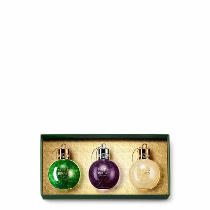 Molton Brown Festive Bauble Gift Set 3x 75ml