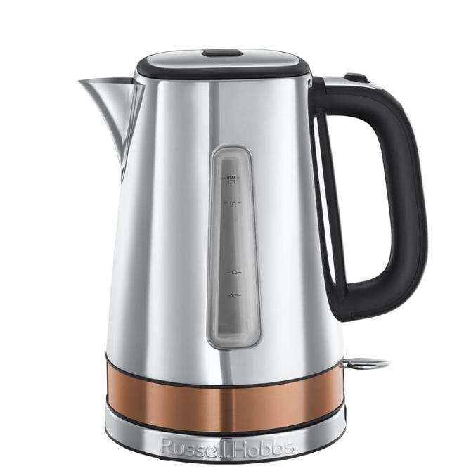 Russell Hobbs Luna Copper Accents Quiet Boil Kettle