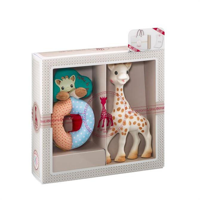 Sophie La Girafe Sophiesticated - The Early Learning Set