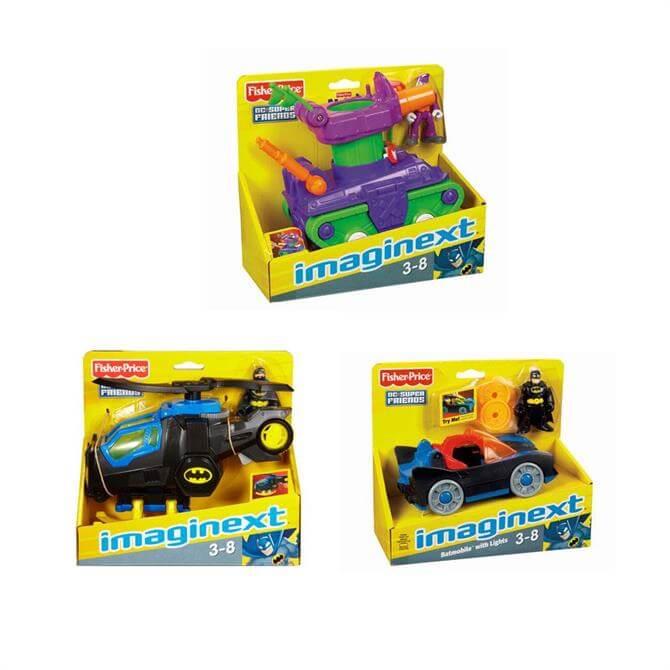 Mattel Imaginext Super Friends Vehicle Pot Luck Pack