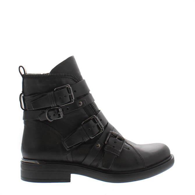 Carl Scarpa Ardella Black Ankle Boots