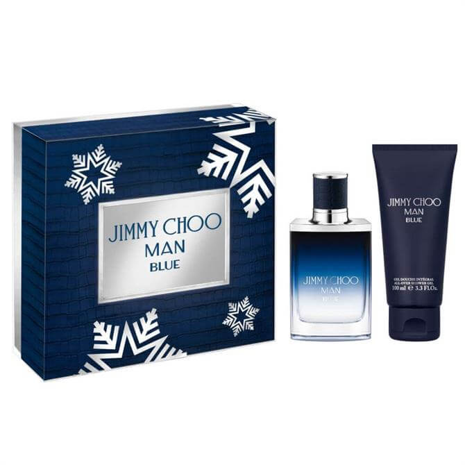 Jimmy Choo Man Blue EDT 50ml Gift Set