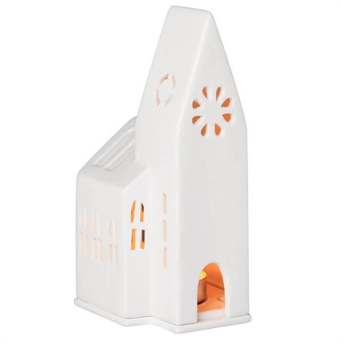 Rader Light Up Small Church Tea Light Holder