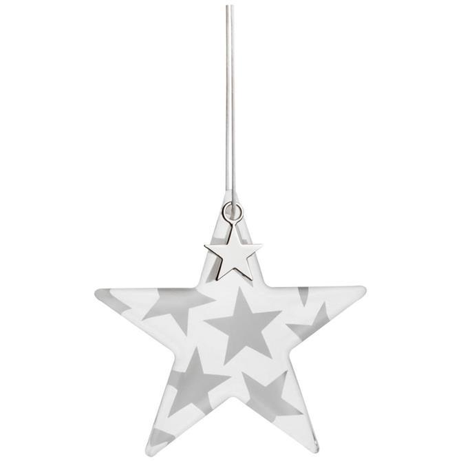 Rader Glass Star Bauble