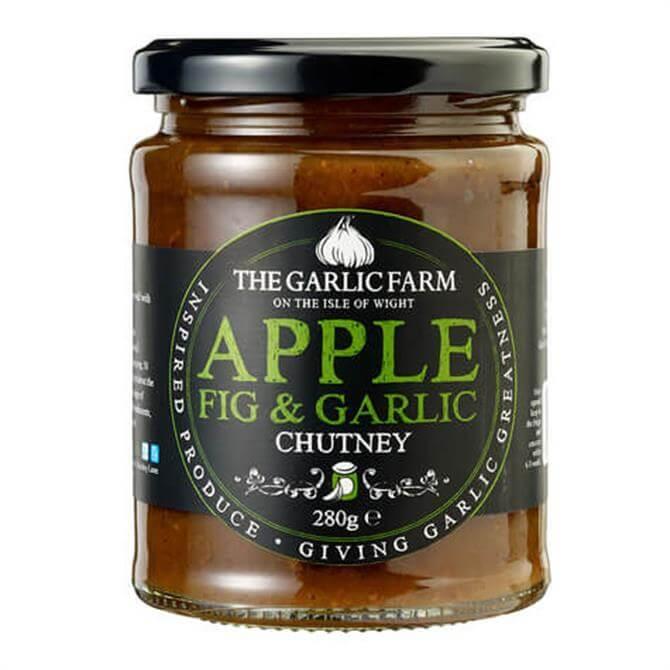 The Garlic Farm Fig, Apple and Garlic Chutney