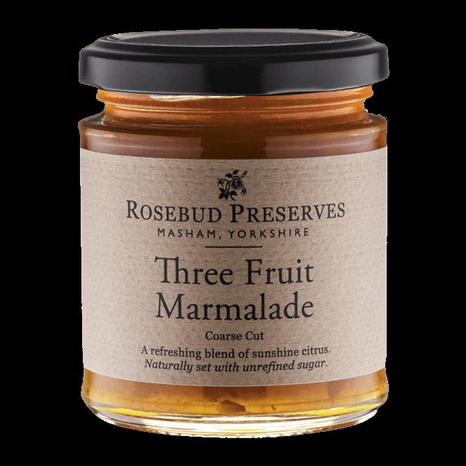 Rosebud Preserves Three Fruit Marmalade