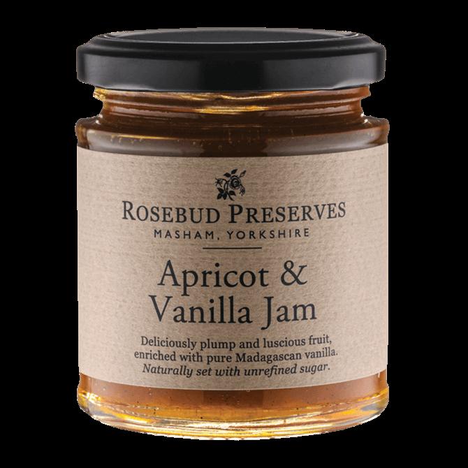 Rosebud Preserves Apricot & Vanilla Jam 227g